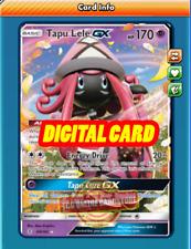 Tapu Lele GX 60/145 for Pokemon TCG Online (PTCGO, Digital Card)