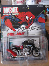 "MARVEL "" BUFF 'N LOW "" series 3 SPIDERMAN MAISTO MOTROCYCLE COLLECTIBLE"