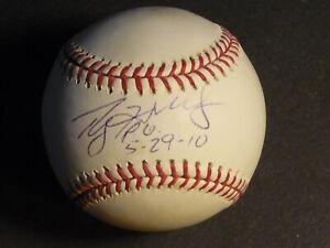 Roy Halladay Perfect Game PG 5-29-10 Autographed Signed Baseball JSA LOA