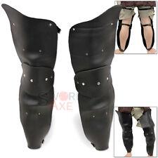 Undead Full Leg Armor Package Dark Imperial Leather Greaves Poleyne Cuisse Pair