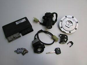 Honda CBR900 RR Hiss Lock Set, Ignition, Tank Cap, CDI / ECU, 2002, 2003 J14