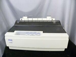 EPSON 9-Pin LX-300+  Dot Matrix Printer Parallel & Serial Tested Single feeder