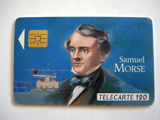 PHONECARD TELECARTE FRANCE TELECOM 120 UNITES SAMUEL MORSE