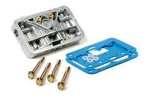 Holley 34-13SA Secondary Metering Block Conversion Kit - Shiny Aluminum
