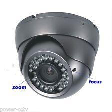 13000TVL 36IR 2.8-12mm Manual Zoom Security Home CCTV Gray Surveillance Camera