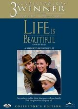 Life Is Beautiful (Dvd, 1999, Collectors Edition) Brand New
