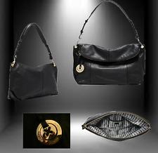 MIMCO SUPERNATURAL HOBO BAG BLACK LEATHER Dustbag & Tags rrp $450 SALE $227.50