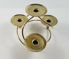Vintage Tabletop Candle Brass Centerpiece 4 Arm candle holder
