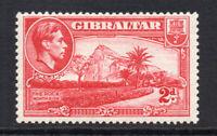 Gibraltar 2d c1938-51 Mounted Mint  (2418)