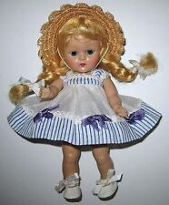 SUPER 1952 Vintage Strung Vogue Ginny Doll JUNE #41 Tiny Miss Series Rosy Cheeks