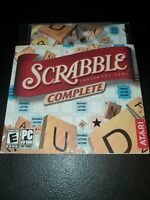ATARI- SCRABBLE COMPLETE [PC CD-ROM]