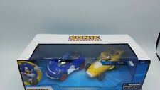 Sonic All-Stars Racing Transformed Pull Back Cars Action Tails & Sonic Hedgehog