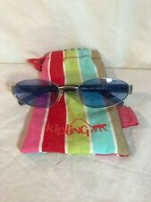 KIPLING SUNGLASSES K524 BLUE LENS WITH CLOTH POUCH NICE