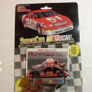 1992 RACING CHAMPIONS 1/64  SCALE , #20 MIKE WALLACE