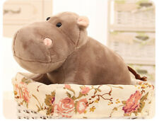 small plush hippo toy cute simulation hippo doll gift about 25cm