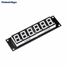5 PCS Digit LED Display Tube, 7-segments,74HC595, WHITE Color for Arduino A
