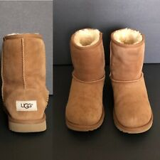 Ugg Australia Classic Leather-Sheepskin S/N 1017703K Girl's Boots Sz 4