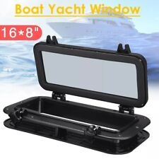 Porthole Portlight Cover Window for Boat Car Marine Yacht Replacement Black