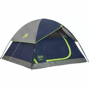 Coleman Tent 10X10 Sundome 6P Navy Grey C002 2000034549