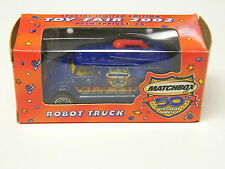 Toy Fair 2002 ROBOT TRUCK Matchbox 50th Birthday Party