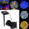 50/100/200LED Outdoor Solar Power String Light Garden Christmas Fairy Party Lamp