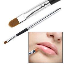 Professional Makeup Lipstick Gloss Lip Brush Portable Retractable Cosmetic Tool