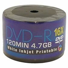 Aone DVD-R 16X Full Face Inkjet Printable DVD