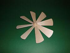 1 Pyramide 8 Flügel Flügelrad 21 cm  Ersatzteil Erzgebirge Zubehör Nabe  Blätter