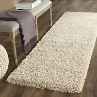Safavieh California Shag Collection SG151-1313 Beige Runner Rug (2'3'' x 5')