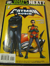 DC What's Next? Batman Robin  Special Edition 1st Issue July 2010 Bob Kane