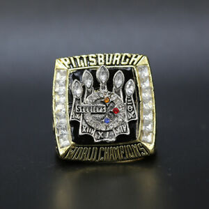 Hines Ward - 2005 Pittsburgh Steelers Super Bowl MVP Ring GOLD with BOX