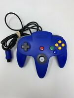 Nintendo 64 Blue Controller NUS-005 Authentic OEM N64 Tested Tight Stick