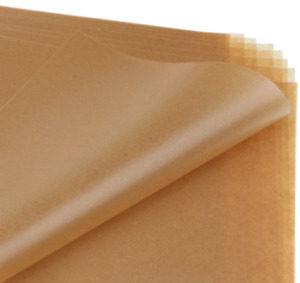 50 Sheets Brown Candy Wrapping Paper Disposable Sandwich Soap Wax Paper for B