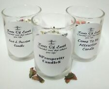 Conjure Candle Set Prosperity/ Lust & Passion/ Come To Me/ Sale Hoodoo Magic