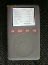 Apple iPod Classic 3rd Generation White 30 Gb Rare ! Very Good ! Sounds Great !