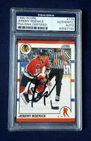 1990 Score Jeremy Roenick Signed Rookie #179 PSA/DNA Certified Authentic Auto