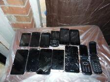 Lot of 13 Assorted Smartphones Phones iPhones Samsung, Apple, LG,AS IS+Honeycomb