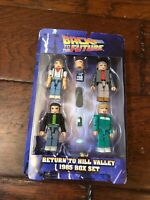 Back To The Future 1  II Minimates Return To Hill Valley 2015 1985 Set Diamond