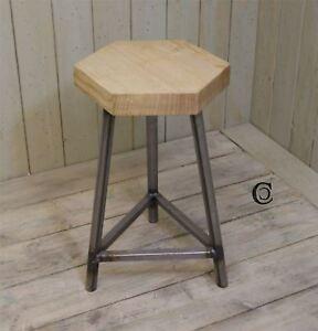 Mild Steel Triangle Table/Stool - 450mm