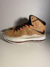 Nike Lebron X EQT Cork QS Size 11