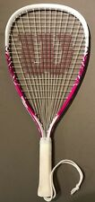 Wilson Pink and White Racket Size: Xs - 3 7/8 - Pre-owned - Power Strings