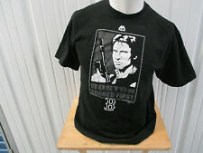 VINTAGE MAJESTIC BOSTON RED SOX X HAN SOLO STAR WAR SCORE FIRST LARGE SHIRT