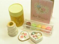 Re-ment Elegant sweet & cake dessert #8-Wedding gift set macaron heart shape box
