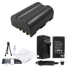 EN-EL3e Battery + Charger + BONUS for Nikon D50 D70 D70s D80 D90