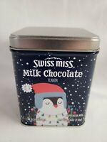 Swiss Miss Hot Cocoa Mix Metal Tin Penguin - Empty
