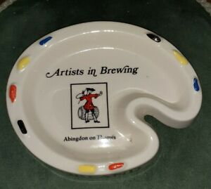 Vintage MORLAND ASHTRAY, Artists In Brewing (RARE)