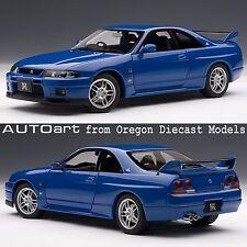 AUTOart 77328 1/18 Nissan Skyline GT-R (R33) V-Spec LM Champion Blue LE 2000pcs