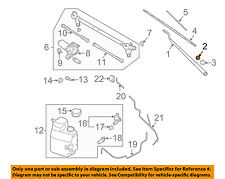 NISSAN OEM Wiper Washer-Windshield-Wiper Arm Nut 2888950J1A