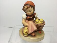 "Hummel Figurine, 3 1/2"", "" Chick Girl "",  Hum 57/0, TMK-5, The last Bee mark"