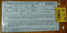 American Model Builders, Inc #483 Pacific Electric Style Passenger Shelter Kit